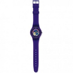 OROLOGIO SWATCH NEW GENT PURPLE LACQUERED - SUOV100