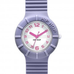 OROLOGIO HIP HOP NUMBERS COLLECTION FAIRY VIOLET - HWU0126