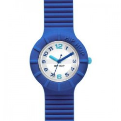 OROLOGIO HIP HOP NUMBERS COLLECTION BLUE AZUR - HWU0463