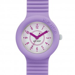 Orologio donna/bimbo Hip Hop Numbers Collection Lavander - HWU0628