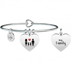 Bracciale kidult life family cuore/my family - 731629