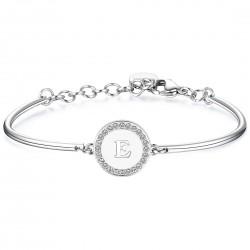 "Bracciale brosway chakra - lettera ""E"" - BHK128"