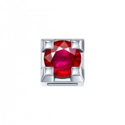 Elements donnaOro griffes quadrate-rubino - DCHR3312