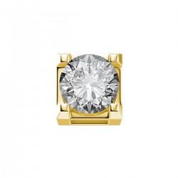 Elements donnaOro griffes quadrate-oro giallo e diamante - DCHF7442.005