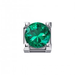 Elements donnaOro griffes quadrate-smeraldo - DCHE7244