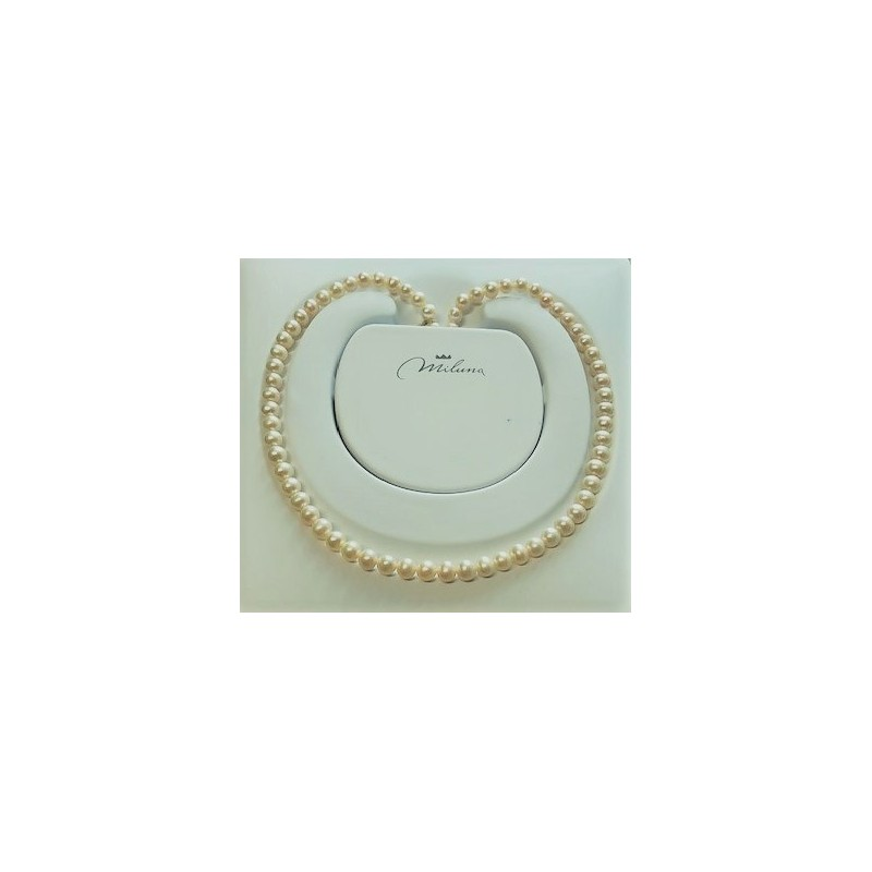 Collana donna perle miluna gioielli - PCL 4199