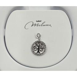 Ciondolo in argento miluna albero della vita - PFD858