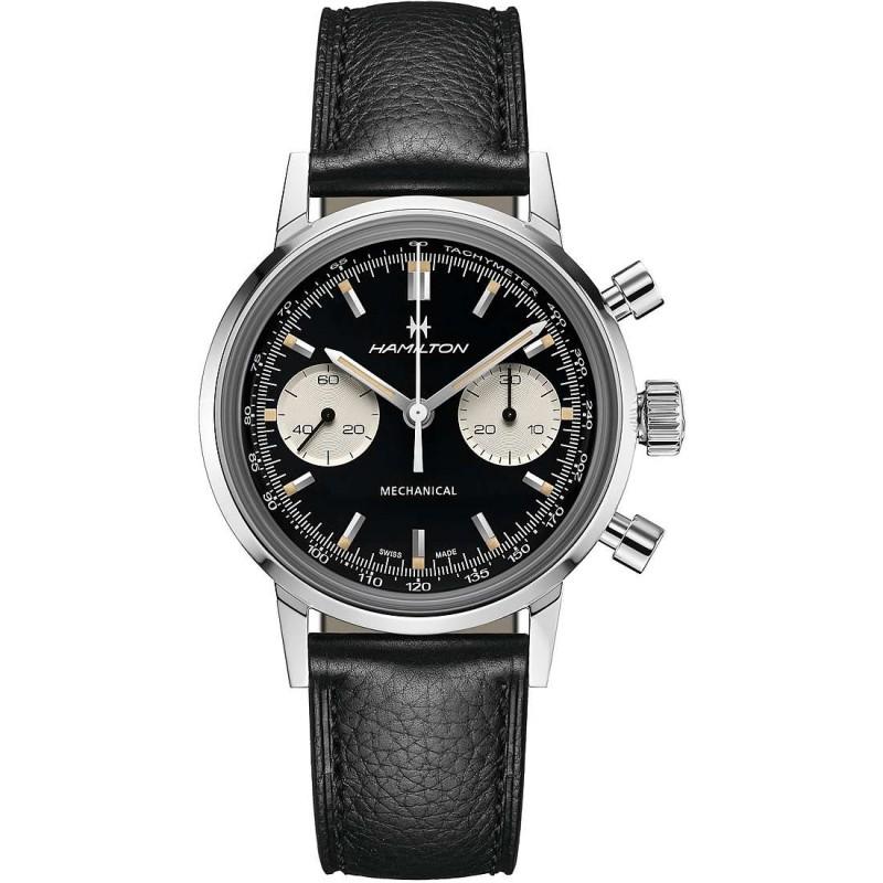 Orologio hamilton american classic intra-Matic chronograph h - H38429730