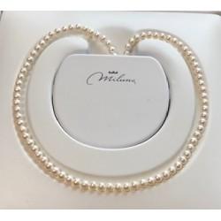 Collana donna perle miluna gioielli - PCL 4195