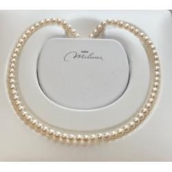 Collana donna perle miluna gioielli - PCL 4196