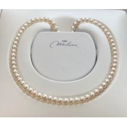 Collana donna perle miluna gioielli - PCL 4197