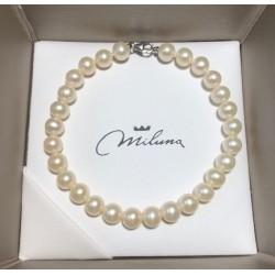 Bracciale donna perle miluna gioielli - PBR 1676