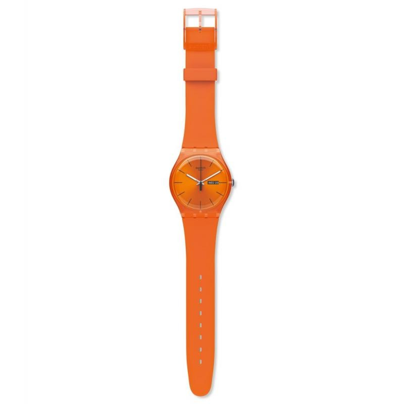 Orologio unisex swatch new gent pumpkin rebel - SUOO700
